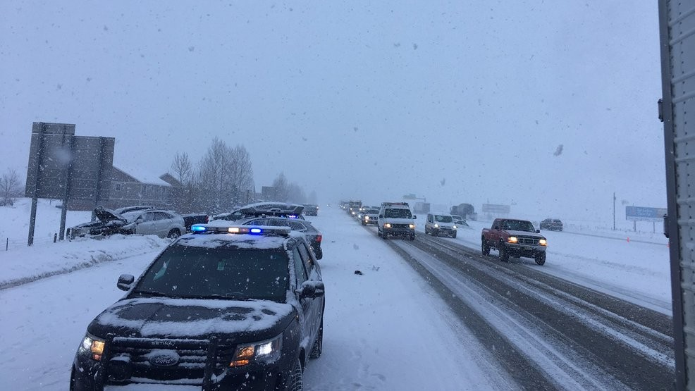 Crews clear multi-vehicle accident from I-90 near Bozeman | KECI