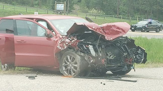 Woman dies after Highway 93 crash south of Missoula   KECI