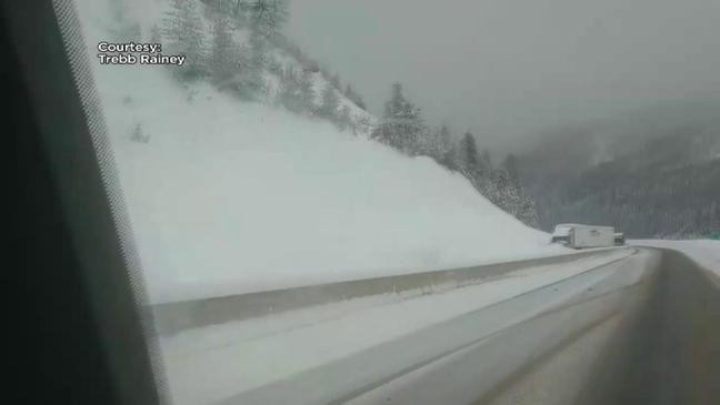 Westbound lanes of I-90 reopened at St  Regis | KECI